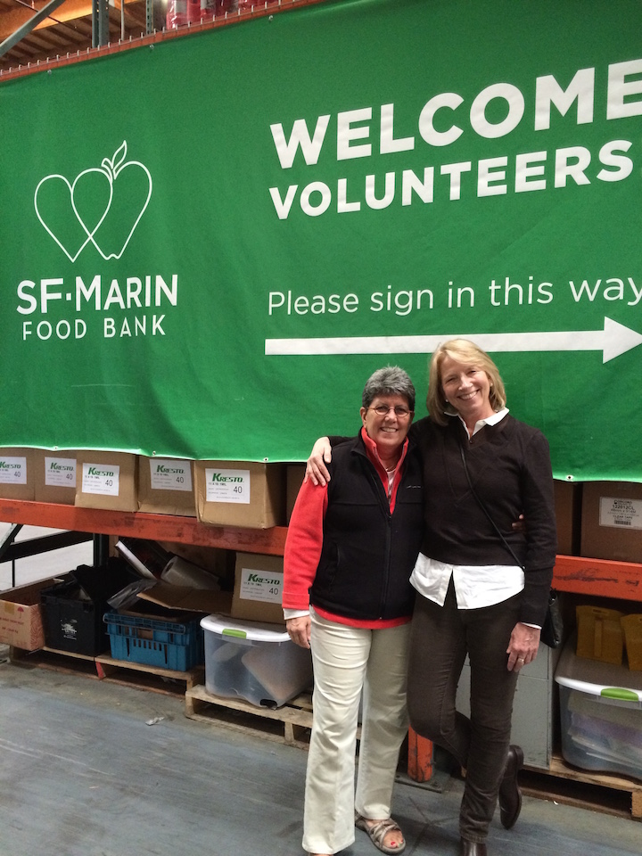 The Margolin Group Volunteers At San Francisco Marin Food Bank The